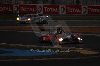 2010 Le Mans, Sunday June 13th 2010. Dunlop Chicane at dawn. Digital Ref : CB1D5020