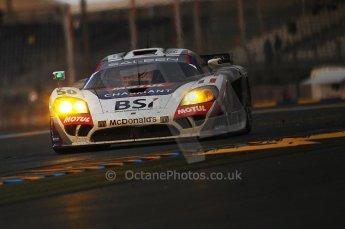 2010 Le Mans, Sunday June 13th 2010. Dunlop Chicane at dawn. Digital Ref : CB1D5108