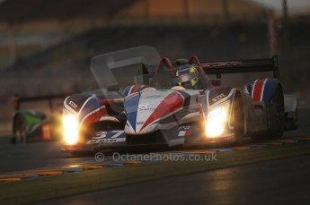 2010 Le Mans, Sunday June 13th 2010. Dunlop Chicane at dawn. Digital Ref : CB1D5132