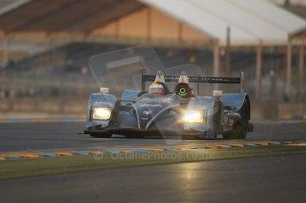 2010 Le Mans, Sunday June 13th 2010. Dunlop Chicane at dawn. Digital Ref : CB1D5219