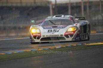 2010 Le Mans, Sunday June 13th 2010. Dunlop Chicane at dawn. Digital Ref : CB1D5283