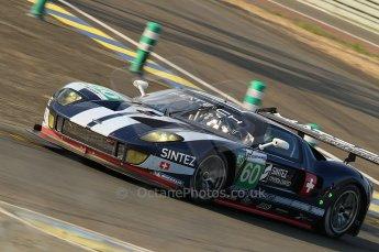 2010 Le Mans. Arnage Corner. Matech Racing - Thimas Mutsch, Romain Grosjean, Jonathan Hirschi. Digital Ref : CB1D4507