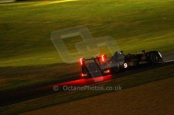 2010 Le Mans, Saturday June 12th 2010. Chapelle/Tertre Rouge at night. Digital Ref : CB1D4789