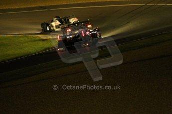 2010 Le Mans, Saturday June 12th 2010. Chapelle/Tertre Rouge at night. Digital Ref : CB1D4814