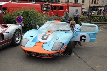 2010 Le Mans 24 Hour (24 Heures du Mans), 11th June 2010. GT40 Mk.I replica. Drivers' parade. Digital ref : CB5D3142