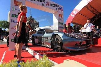 2010 Le Mans 24 Hour (24 Heures du Mans), 11th June 2010. Drivers' parade. Digital ref : CB5D3241