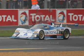 2010 Le Mans Group.C support race, Saturday June 12th 2010. Dunlop Chichane. Digital ref : LW40D3351