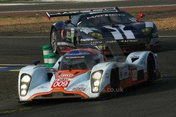 2010 Le Mans, Saturday June 12th 2010. Arnage Corner. Digital Ref : LW40D4755