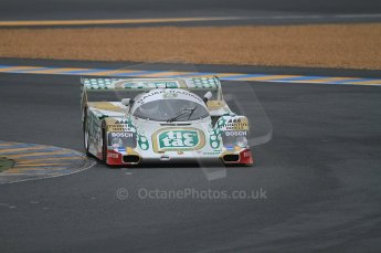 2010 Le Mans Group.C support race, Saturday June 12th 2010. Dunlop Chichane. Digital ref : CB7D5122