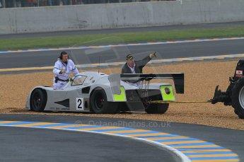 2010 Le Mans Group.C support race, Saturday June 12th 2010. Dunlop Chichane. Digital ref : CB7D5195