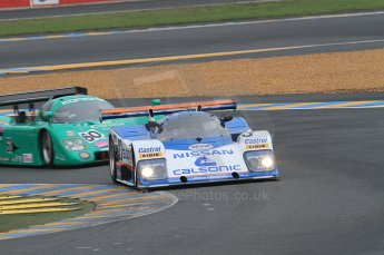 2010 Le Mans Group.C support race, Saturday June 12th 2010. Dunlop Chichane. Digital ref : CB7D5244