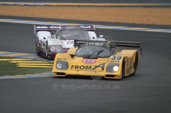 2010 Le Mans Group.C support race. Dunlop Chichane. Digital Ref : CB7D5430