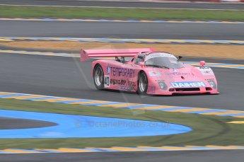 2010 Le Mans Group.C support race, Saturday June 12th 2010. Dunlop Chichane. Digital Ref : CB7D5514