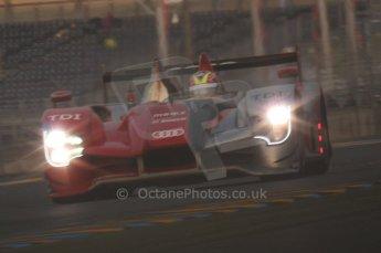 2010 Le Mans, Sunday June 13th 2010. Dunlop Chicane at dawn. Digital Ref : LW40D5539