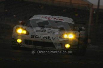 2010 Le Mans, Sunday June 13th 2010. Dunlop Chicane at dawn. Digital Ref : LW40D5592