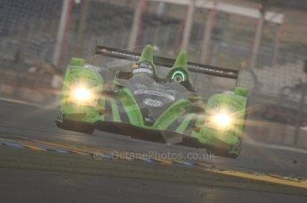 2010 Le Mans, Sunday June 13th 2010. Dunlop Chicane at dawn. Digital Ref : LW40D5636