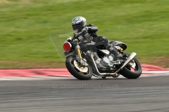 2010 Donington Revived! meeting, September 4th 2010, Motorbike demo laps. Digital ref : 0037CB1D2480