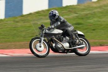 2010 Donington Revived! meeting, September 4th 2010, Motorbike demo laps. Digital ref : 0037CB1D2504