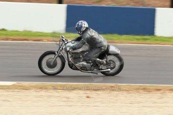2010 Donington Revived! meeting, September 4th 2010, Motorbike demo laps. Digital ref : 0037CB1D2513