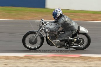 2010 Donington Revived! meeting, September 4th 2010, Motorbike demo laps. Digital ref : 0037CB1D2546