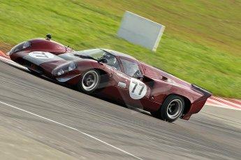 © Octane Photographic Ltd. 2010 Masters Racing - Donington September 4th 2010. World Sportscar Masters, Lola T70 Mk.3b - Justin Maeers. Digital Ref : cb1d2332