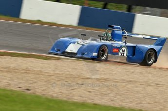 © Octane Photographic Ltd. 2010 Masters Racing - Donington September 4th 2010. Interserie Revival. Chevron B31 - Steve Hodges. Digital Ref : cb1d2758