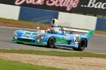 © Octane Photographic Ltd. 2010 Masters Racing - Donington September 4th 2010. Interserie Revival. Matra MS670 - Abba Kogan. Digital Ref : cb1d2821