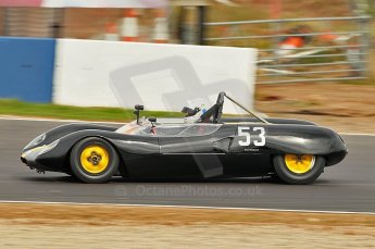 © Octane Photographic Ltd. 2010 Masters Racing - Donington September 4th 2010. Sports Racing Masters. Lotus 23B - Andrew Garside. Digital Ref : cb1d3493