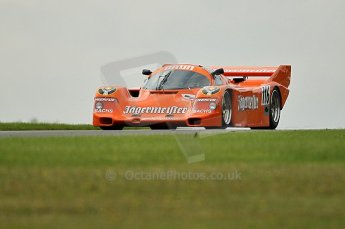 © Octane Photographic Ltd. 2010 Masters Racing - Donington September 5th 2010. Demo runs - Porsche 956/962. Digital Ref : cb1d4392
