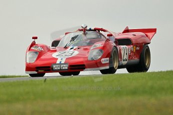 © Octane Photographic Ltd. 2010 Masters Racing - Donington September 5th 2010. Demo runs - Ferari 512S. Digital Ref : cb1d4396