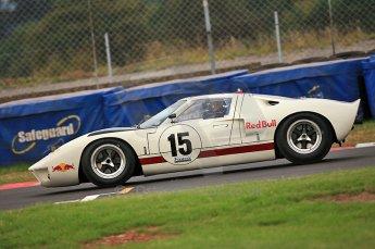 © Octane Photographic Ltd. 2010 Masters Racing - Donington September 4th 2010.Sports Racing Masters. Ford GT40 Mk.I - Adrian Newey. Digital Ref : cb5d0008