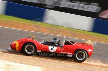 © Octane Photographic Ltd. 2010 Masters Racing - Donington September 4th 2010. World Sportscar Masters. McLaren M1C - Roger Wills. Digital Ref :CB7D5121