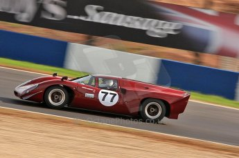 © Octane Photographic Ltd. 2010 Masters Racing - Donington September 4th 2010. World Sportscar Masters. Lola T70 Mk.3b - Justin Maeers. Digital Ref :CB7D5121