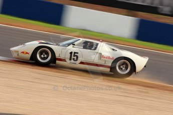 © Octane Photographic Ltd. 2010 Masters Racing - Donington September 4th 2010. World Sportscar Masters. Ford GT40 Mk.I - Adrian Newey. Digital Ref :CB7D5121