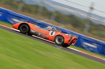 © Octane Photographic Ltd. 2010 Masters Racing - Donington September 4th 2010. Interserie Revival.  McLaren M6B - Anthony Taylor. Digital ref : CB7D5532