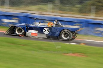 © Octane Photographic Ltd. 2010 Masters Racing - Donington September 4th 2010. Interserie Revival. Chevron B19 - Sandy Watson. Digital ref : CB7D5532