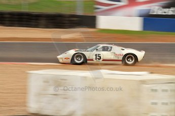 © Octane Photographic Ltd. 2010 Masters Racing - Donington September 4th 2010. Sports Racing Masters. Ford GT40 Mk.I - Adrian Newey. Digital Ref : CB7D6199