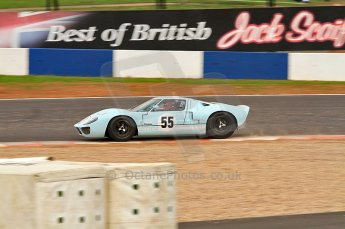 © Octane Photographic Ltd. 2010 Masters Racing - Donington September 4th 2010. Sports Racing Masters. Ford GT40 Mk.I - Chris Buncombe/Alex Buncombe. Digital Ref : CB7D6200