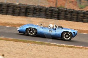 © Octane Photographic Ltd. 2010 Masters Racing - Donington September 4th 2010. Sports Racing Masters. Lola T70 Mk.I spyder - Howard Jones/Nick Adams. Digital Ref : CB7D6216