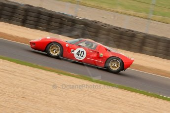 © Octane Photographic Ltd. 2010 Masters Racing - Donington September 4th 2010. Sports Racing Masters. Ford GT40 Mk.I - Anthony Hancock/Ollie Hancock. Digital Ref : CB7D6236