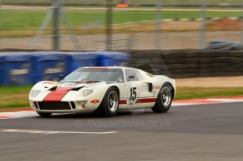 © Octane Photographic Ltd. 2010 Masters Racing - Donington September 4th 2010. Sports Racing Masters. Ford GT40 Mk.I - Adrian Newey. Digital Ref : CB7D6296