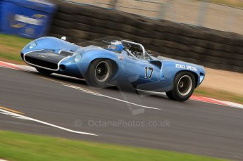 © Octane Photographic Ltd. 2010 Masters Racing - Donington September 4th 2010. Sports Racing Masters. Lola T70 Mk.I spyder - Howard Jones/Nick Adams. Digital Ref : CB7D6352