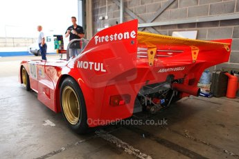 © Octane Photographic Ltd. 2010 Masters Racing - Donington September 4th 2010. Abarth PA01 - John Crowson/Richard Evens. Digital Ref : CB59790
