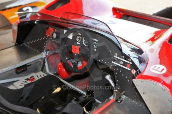 © Octane Photographic Ltd. 2010 Masters Racing - Donington September 4th 2010. McLaren M1C cockpit. Digital Ref : CB5D9817