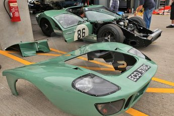 © Octane Photographic Ltd. 2010 Masters Racing - Donington September 4th 2010. GT40 Mk.I. Digital Ref : CB5D9871