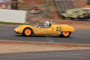 © Octane Photographic Ltd. 2010 Masters Racing - Donington September 4th 2010. Sports Racing Masters. Lotus 23B - John Pearson/Gary Pearson. Digital Ref : CB5D9954