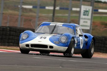 © Octane Photographic Ltd. 2010 Masters Racing - Donington September 4th 2010. Sports Racing Masters. Chevron B8 - Steve Hodges. Digital Ref : CB5D9978