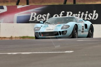 © Octane Photographic Ltd. 2010 Masters Racing - Donington September 4th 2010. Sports Racing Masters. Ford GT40 Mk.I - Chris Buncombe/Alex Buncombe. Digital Ref : CB5D9997