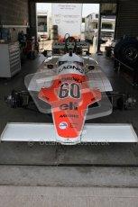 World © Octane Photographic 2010. 2010 Donington Revived! meeting, September 4th 2010. MastersGP - Historic Formula 1, Historic F1. Arrows A4 - Richard Abbott. Digital ref : 0029CB5D9811
