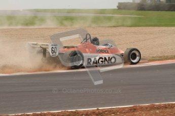 World © Octane Photographic 2010. 2010 Donington Revived! meeting, September 4th 2010. MastersGP - Historic Formula 1, Historic F1. Arrows A4 - David Abbott. Digital ref : 0029CB7D5862